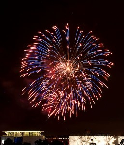 Fireworks (photo courtesy Wikicommons)