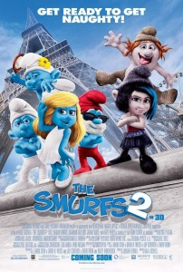 Smurfs 2 Opens tomorrow, July 31