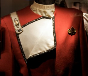 A Starfleet uniform because I couldn't find a picture of the NC-1701 that was definitely public domain.