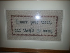 I like this. Saw it in my dentist's office