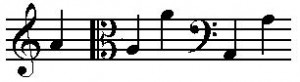 """Source: Music note A"""" by Original uploader was Ofeky at he.wikipedia - Originally from he.wikipedia; description page is/was here.. Licensed under Attribution via Wikimedia Commons."""